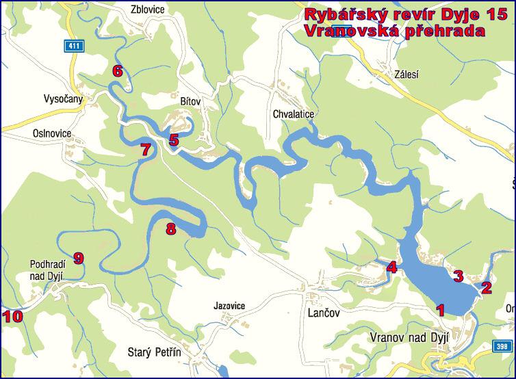 Rybareni A Ryby Vranovska Prehrada Revir Dyje 15 Un Vranov